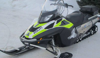 policescooter iFinnmark